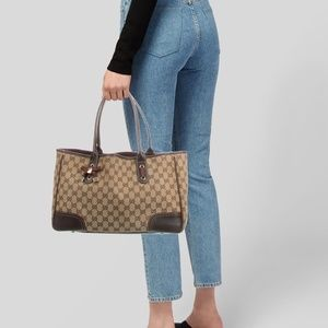 GUCCI GG Canvas Princy Tote